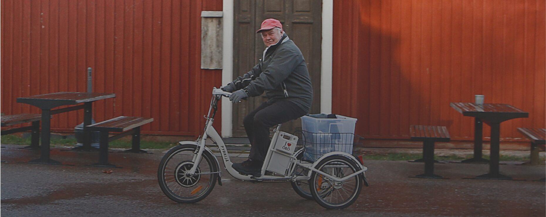 Pyrkijä-sähköpyörä - Mönkijä Center